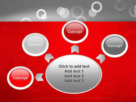 Abstract Dotted Gray PowerPoint Template Slide 7