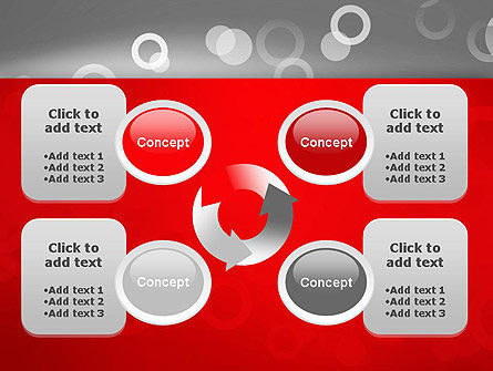 Abstract Dotted Gray PowerPoint Template Slide 9