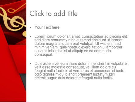 Music Note PowerPoint Template, Slide 3, 13164, Art & Entertainment — PoweredTemplate.com