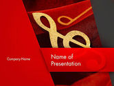 Art & Entertainment: Music Note PowerPoint Template #13164