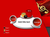 Music Note PowerPoint Template#16