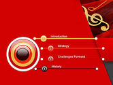 Music Note PowerPoint Template#3