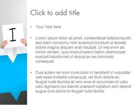 Presenting an Idea PowerPoint Template, Slide 3, 13165, Business Concepts — PoweredTemplate.com