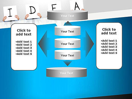 Presenting an Idea PowerPoint Template Slide 13