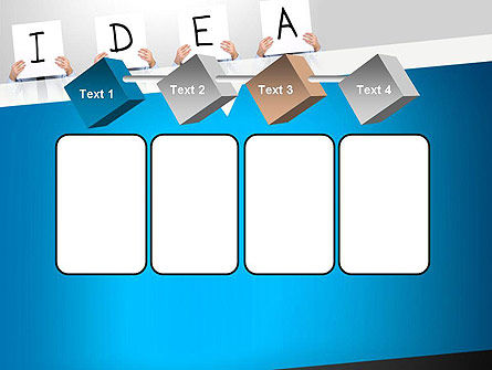 Presenting an Idea PowerPoint Template Slide 18