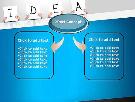 Presenting an Idea PowerPoint Template, Slide 4, 13165, Business Concepts — PoweredTemplate.com