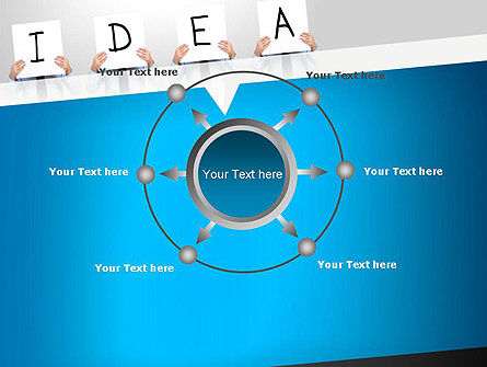 Presenting an Idea PowerPoint Template Slide 7