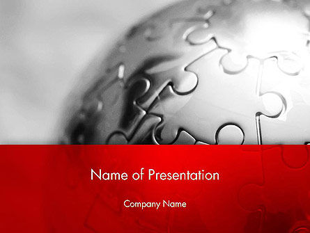 Business Service PowerPoint Template, 13169, Business — PoweredTemplate.com