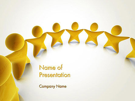 Stars Team PowerPoint Template