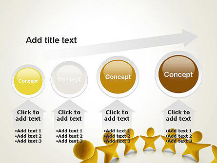Stars Team PowerPoint Template Slide 13
