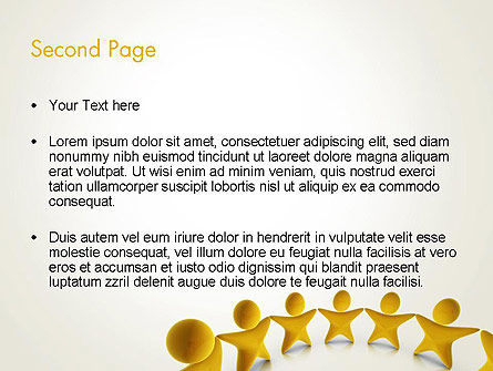 Stars Team PowerPoint Template Slide 2