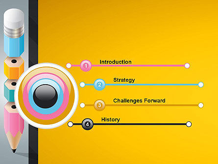 Basic Knowledge PowerPoint Template, Slide 3, 13172, Education & Training — PoweredTemplate.com