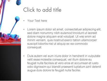 Color Drops PowerPoint Template, Slide 3, 13174, Art & Entertainment — PoweredTemplate.com