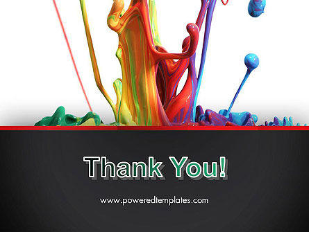 Color Drops PowerPoint Template Slide 20