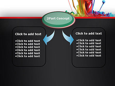 Color Drops PowerPoint Template Slide 4