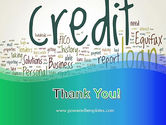 Credit Word Cloud PowerPoint Template#20