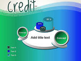 Credit Word Cloud PowerPoint Template#6