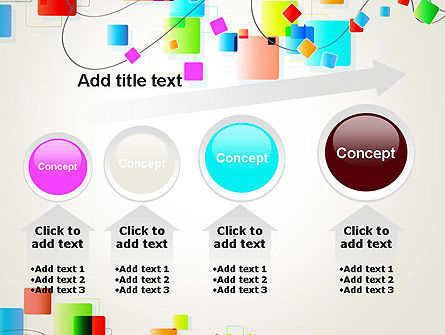 Psychedelic Funky Abstract PowerPoint Template Slide 13