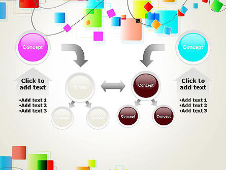 Psychedelic Funky Abstract PowerPoint Template Slide 19