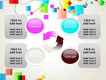 Psychedelic Funky Abstract PowerPoint Template Slide 9