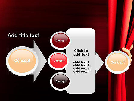 Behind the Curtain PowerPoint Template Slide 17