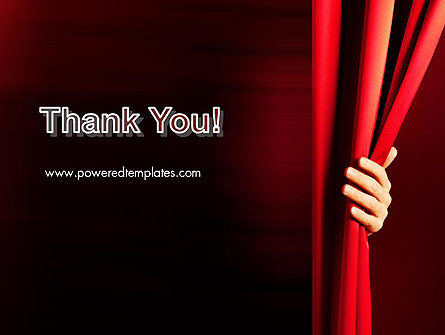 Behind the Curtain PowerPoint Template Slide 20