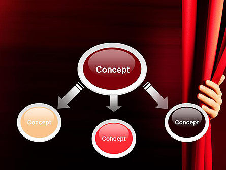 Behind the Curtain PowerPoint Template Slide 4