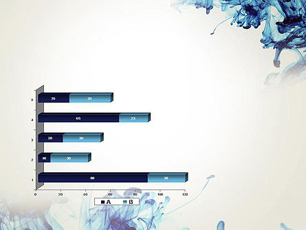 Ink Drop in Water PowerPoint Template Slide 11