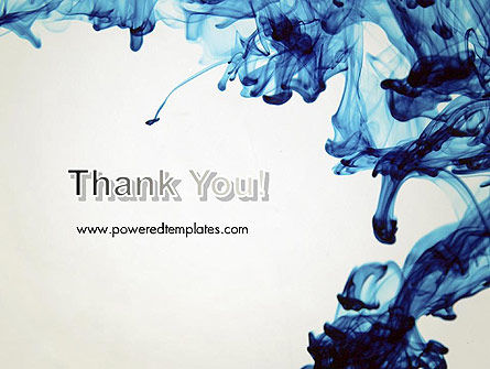 Ink Drop in Water PowerPoint Template Slide 20