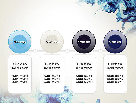 Ink Drop in Water PowerPoint Template Slide 5