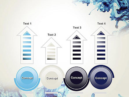 Ink Drop in Water PowerPoint Template Slide 7