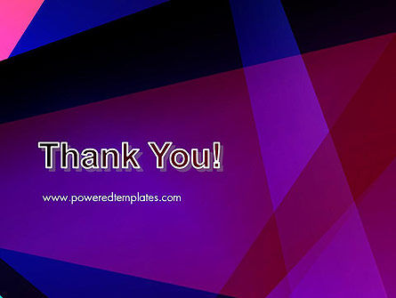 Violet Rays Abstract PowerPoint Template Slide 20