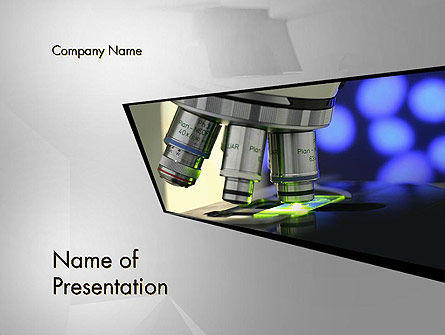 Medical Laboratory PowerPoint Template, 13183, Medical — PoweredTemplate.com