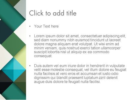 Tilted Grid Layout Abstract PowerPoint Template, Slide 3, 13187, Abstract/Textures — PoweredTemplate.com