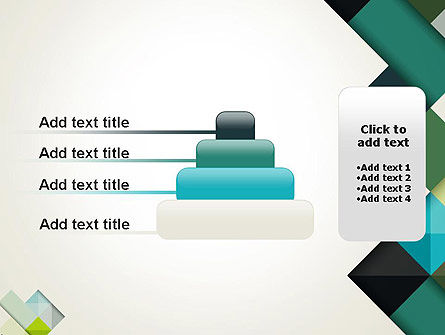 Tilted Grid Layout Abstract PowerPoint Template Slide 8