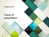 Abstract/Textures: Tilted Grid Layout Abstract PowerPoint Template #13187