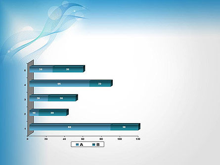 Soft Blue Abstract PowerPoint Template Slide 11
