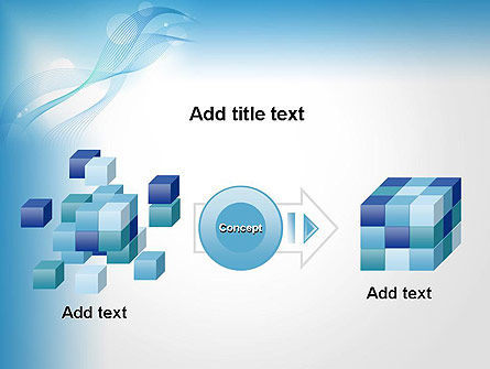 Soft Blue Abstract PowerPoint Template Slide 17