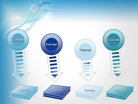 Soft Blue Abstract PowerPoint Template Slide 8