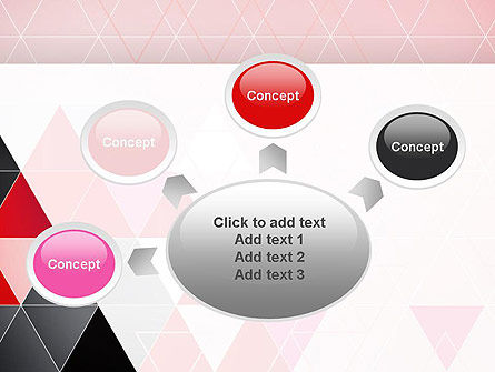 Vivid Triangles Abstract PowerPoint Template Slide 7