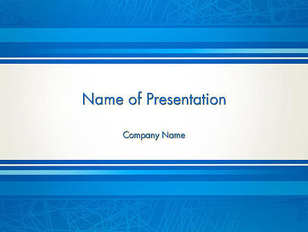 Strict Corporate PowerPoint Template
