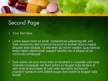 Food Supplements PowerPoint Template Slide 2