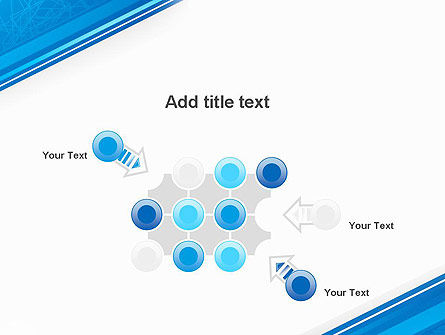 Strict Corporate Tilted Background PowerPoint Template Slide 10