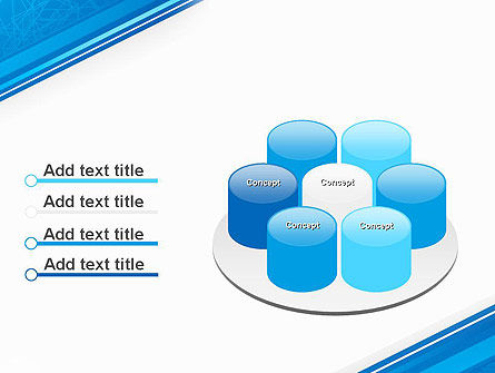 Strict Corporate Tilted Background PowerPoint Template Slide 12
