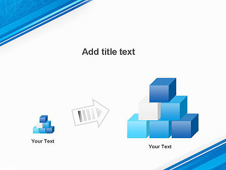 Strict Corporate Tilted Background PowerPoint Template Slide 13