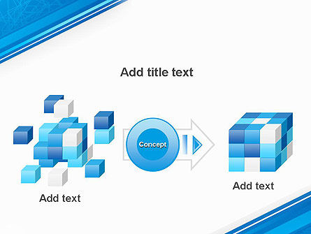 Strict Corporate Tilted Background PowerPoint Template Slide 17