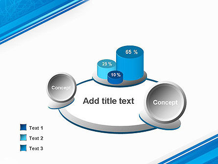 Strict Corporate Tilted Background PowerPoint Template Slide 6