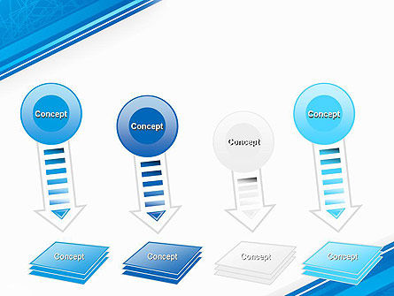 Strict Corporate Tilted Background PowerPoint Template Slide 8
