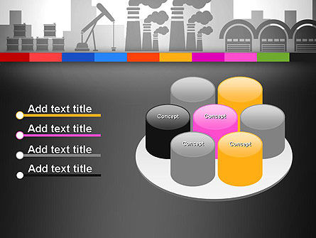 Industrial Silhouettes PowerPoint Template Slide 12