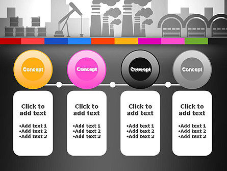Industrial Silhouettes PowerPoint Template Slide 5